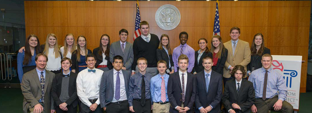 Constitution Team Finishes 3rd in State Slide