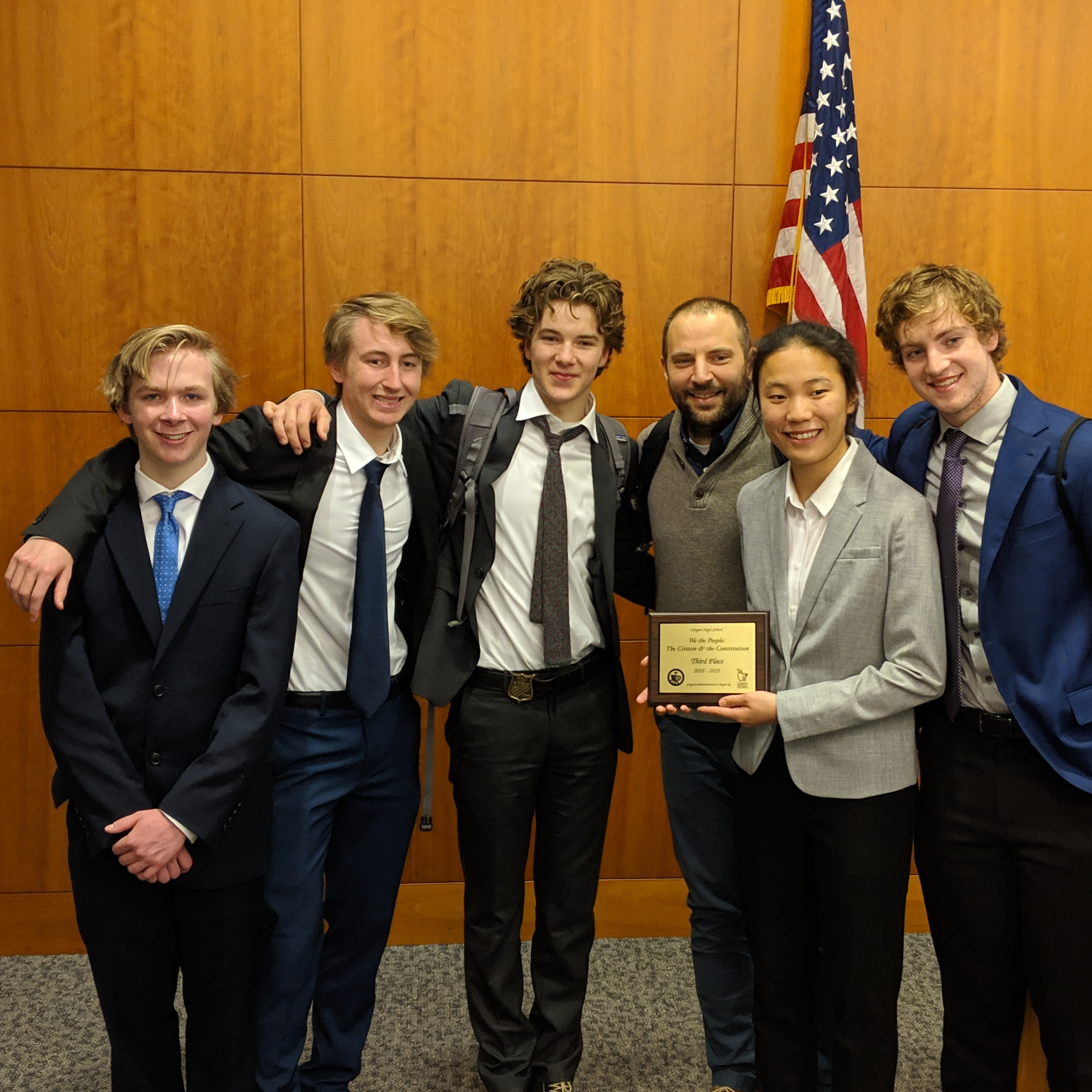 Constitution Team Finishes Third at State Competition