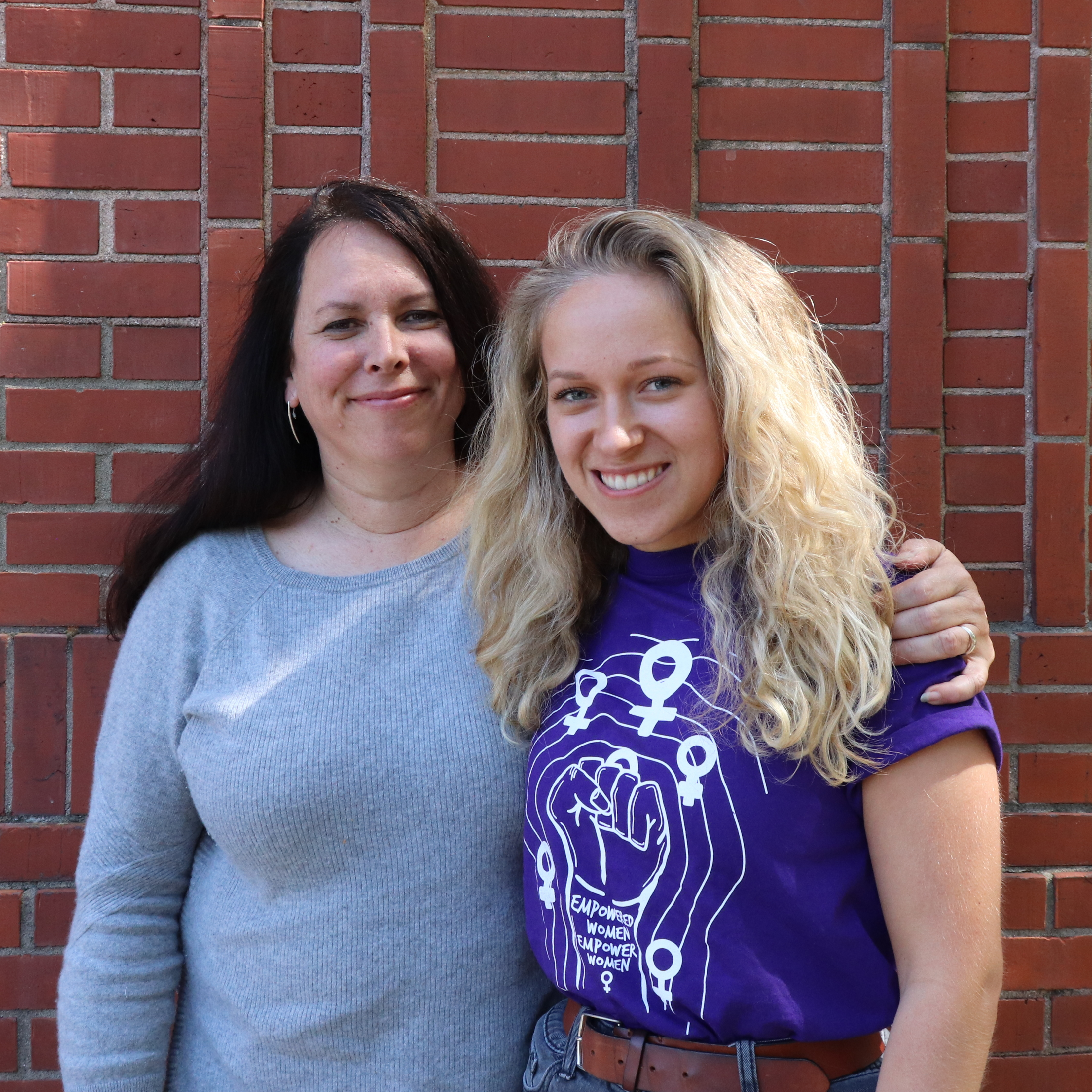 Rams Like You: Bella Maffei '19 and Donna Prosser