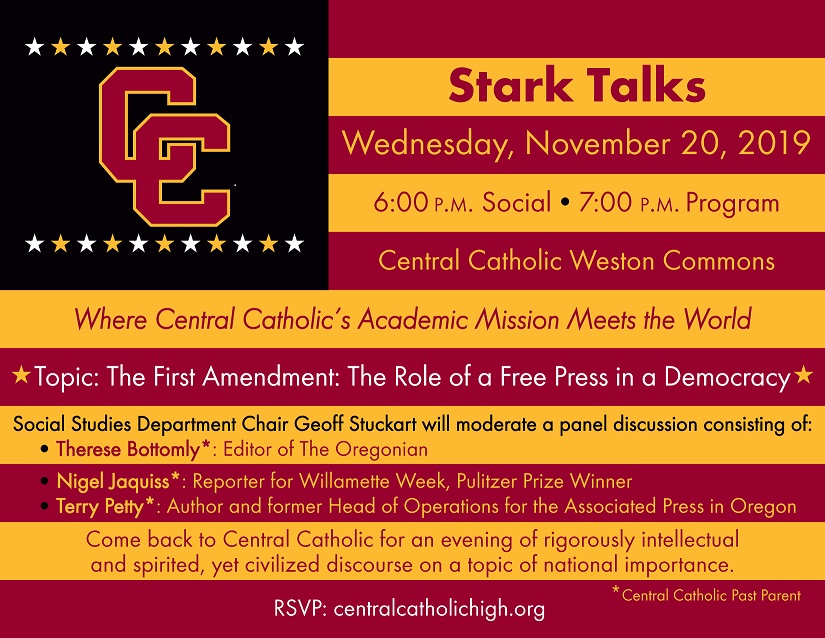 Stark Talks: Where Central Catholic's Academic Mission Meets the World