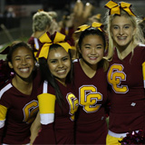 Central Catholic Cheer Competing at State Meet