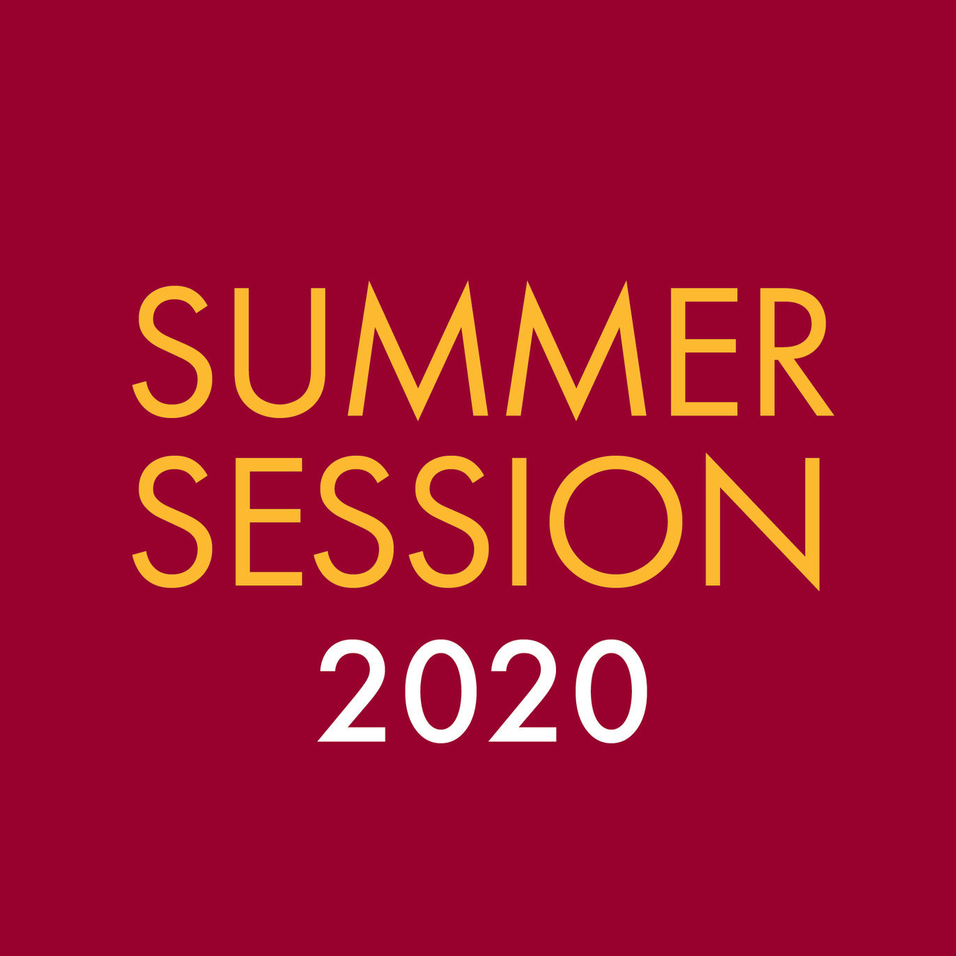 Summer Session 2020