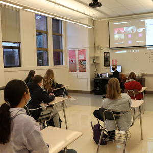 Central Catholic Begins Hybrid Learning