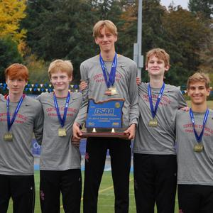 Boys Cross Country Retakes the State Title