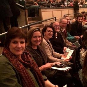 Teachers attend lecture by Chimamanda Ngozi Adichie