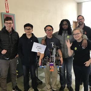 Robotics Club takes fifth at competition