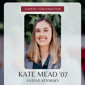 Career Conversation: Kate Mead '07