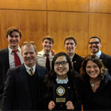 Constitution Team Finishes Second in Regional Competition